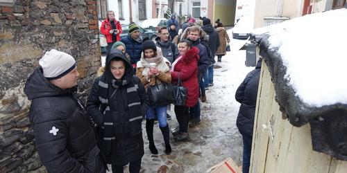 kielce wiadomości Tłumy w cukierniach. Tłusty czwartek w Kielcach (ZDJĘCIA,WIDEO)
