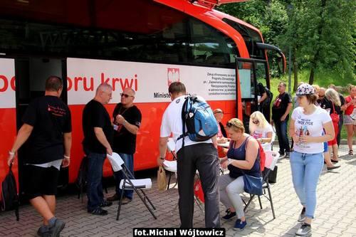 kielce wiadomości Trasa Czerwonej Nitki zawitała do Kielc (ZDJĘCIA)