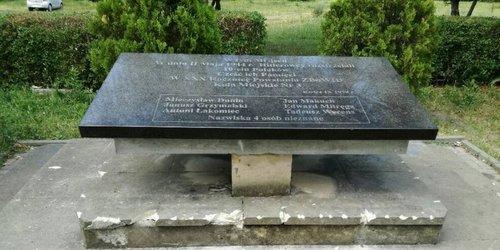 kielce wiadomości Na Czarnowie wandal uszkodził pomnik upamiętniający egzekucję