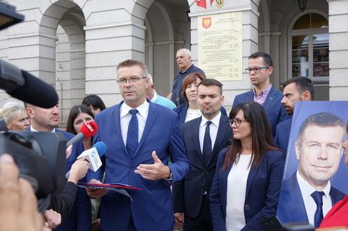 kielce wiadomości Bogdan Wenta obiecuje jawną i przyjazną administrację miasta