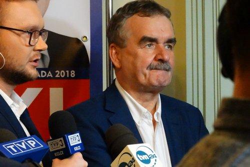 kielce wiadomości Wojciech Lubawski przegrywa w wyborach. Przewaga konkurenta w sondażach bezlitosna