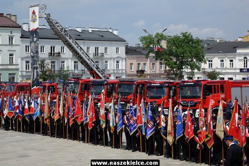 kielce wiadomości Wojewódzkie Obchody Dnia Strażaka odbyły się w Kielcach (ZDJĘCIA,WIDEO)