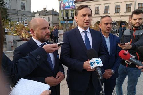 """kielce wiadomości Finał kampanii. Ziobro: """"Wyborcy powinni postawić na wizję PiS"""""""