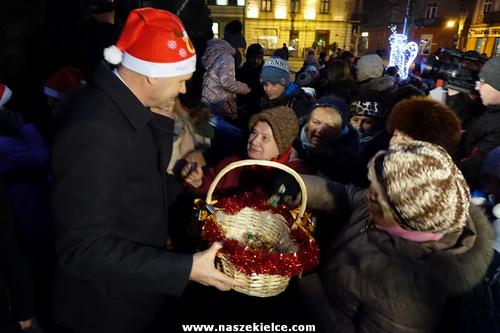 kielce wiadomości Świąteczny sezon w Kielcach rozpoczęty (ZDJĘCIA,WIDEO)