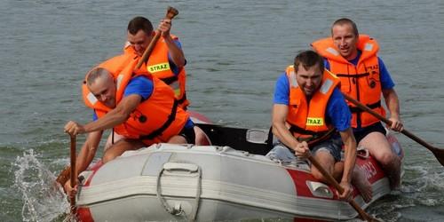 kielce wiadomości Ratownicy wodni trenowali w Chańczy (ZDJĘCIA, WIDEO)