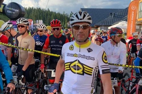 kielce wiadomości Zbigniew Piątek, wójt Piekoszowa z sukcesem w Tour de Pologne