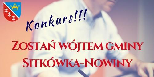 kielce wiadomości Zostań wójtem Sitkówki-Nowin!