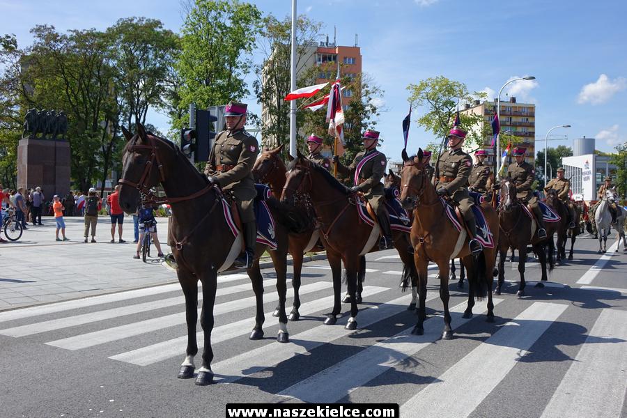 Marsz I Kompanii Kadrowej w Kielcach 12.08.2018