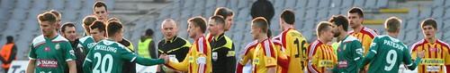 kielce sport Korona remisuje z mistrzem Polski - zdjęcia