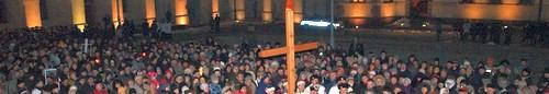 kielce wiadomości tłum kielczan uczestniczył w Świętokrzyskim Misterium Męki Pań