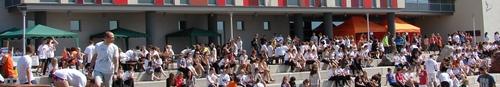 kielce wiadomości Przecinali i biegali – dzień otwarty kampusu UJK- zdjęcia,vide