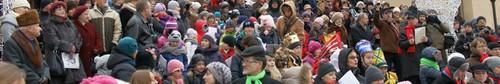 kielce wiadomości Święto Trzech Króli w Kielcach- Pieśniobranie pod Katedrą