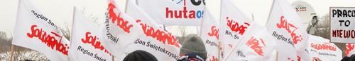 kielce wiadomości Pikieta Solidarności przed Premą - zdjęcia,video