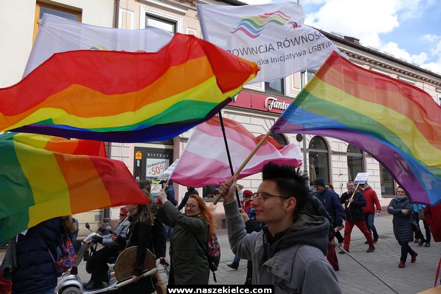 Marsz Równości LGBT w Kielcach pod znakiem zapytania. Zgłoszono kilkanaście kontrmanifestacji