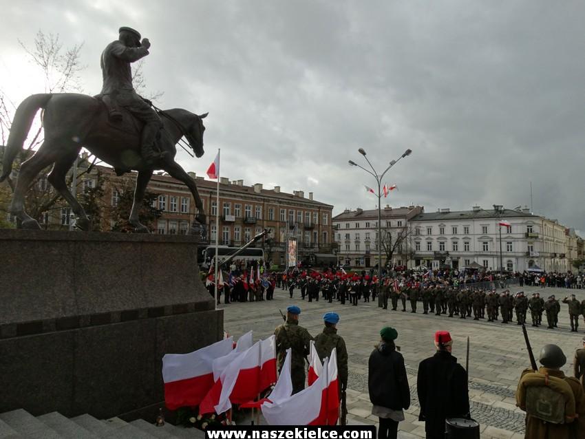 Kieleckie obchody Święta Niepodległości 11.11.2017