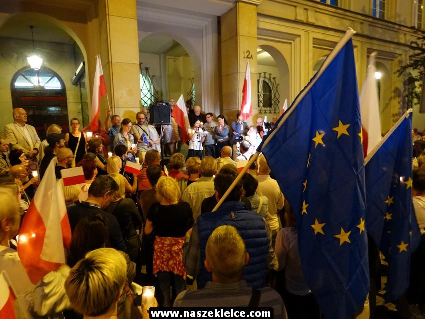 Kielce solidarne z sędziami. KOD organizuje protest pod Sądem Okręgowym