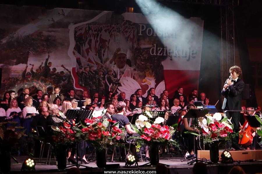 Koncert Piotra Rubika przy Kościele Garnizonowym w Kielcach 16.08.2020