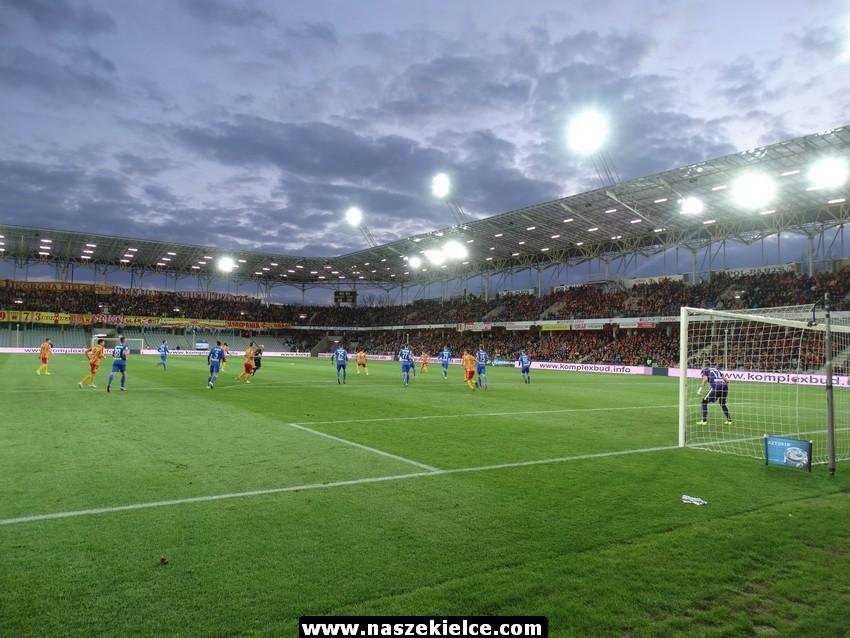 Na stadionie Korony zamontowano telebim i nowe ławki rezerwowe