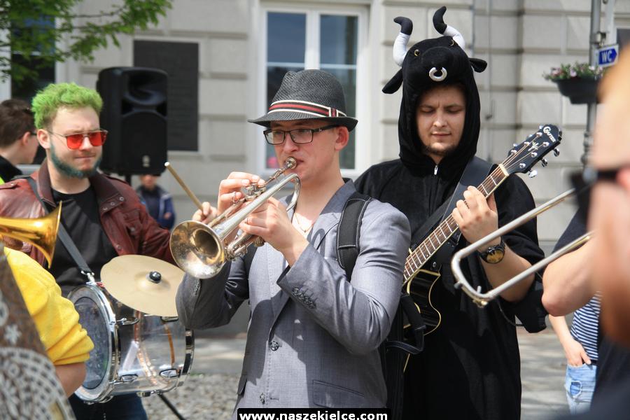 Korowód studencki w Kielcach 16.05.2019. Juwenalia 2019