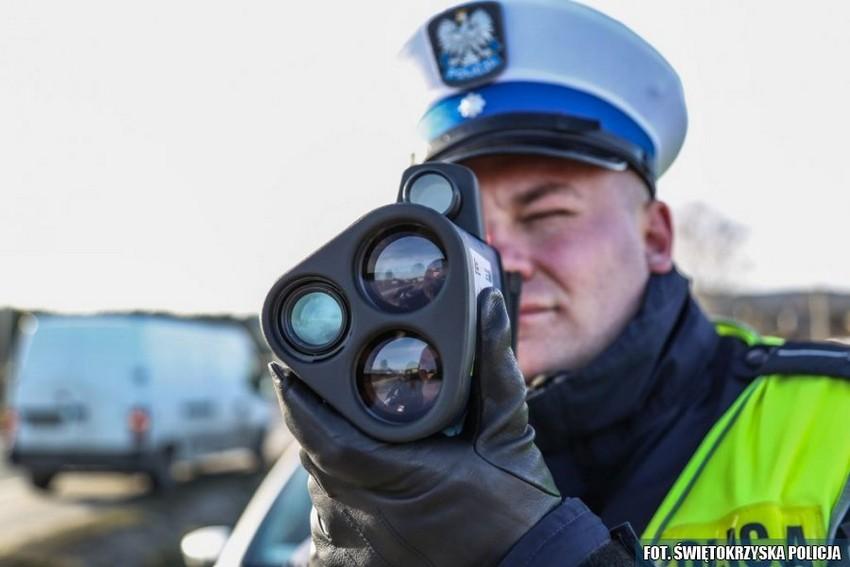 Świętokrzyscy policjanci mają laserowe czujniki 09.01.2018