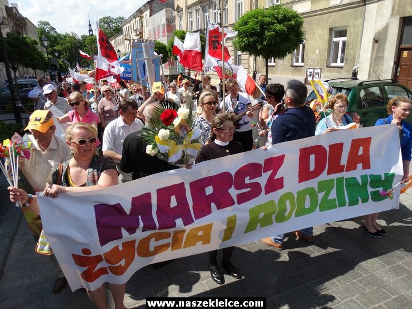 Marsz w obronie życia i rodziny znów przejdzie ulicami Kielc