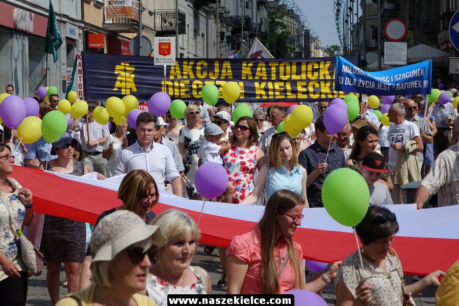 Ulicami Kielc przejdzie Marsz Dla Życia i Rodziny