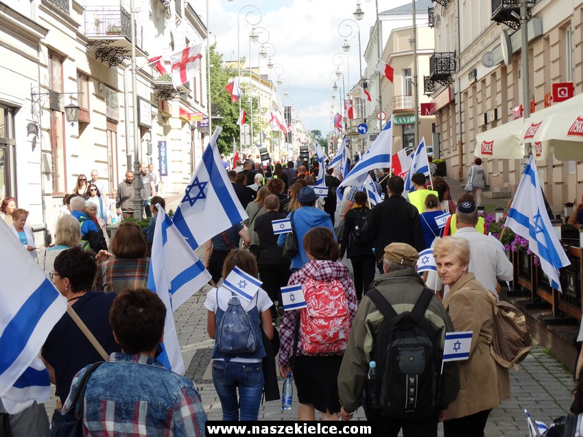 Marsz Życia i Koncert dla Izraela w Kielcach 02.07.2017