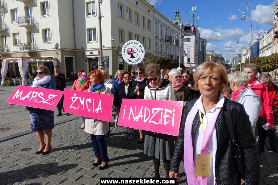 Marsz Życia i Nadziei w Kielcach 29.09.2018
