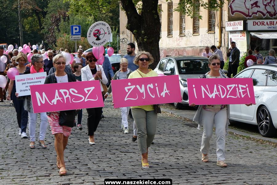 Marsz Życia i Nadziei w Kielcach 07.09.2019