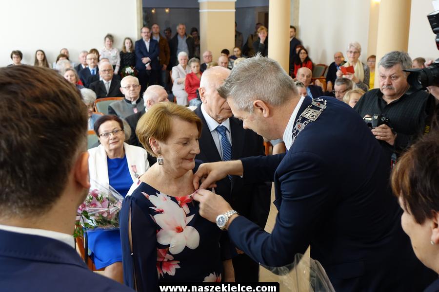 Złote gody kieleckich par 05.04.2019
