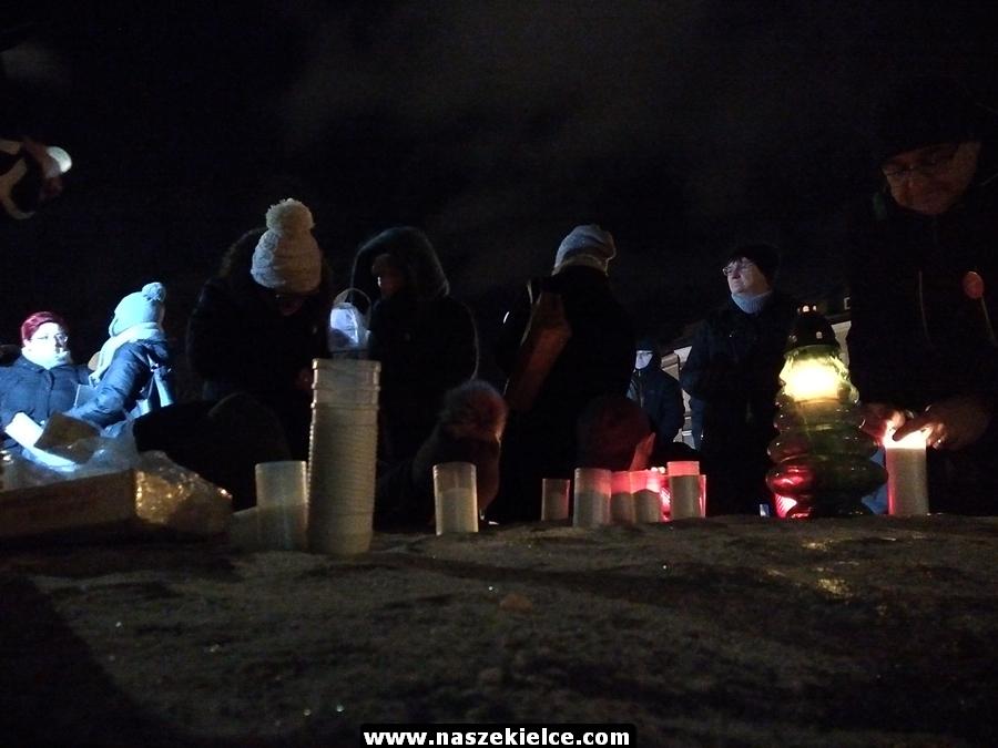 Kielczanie pożegnali prezydenta Gdańska