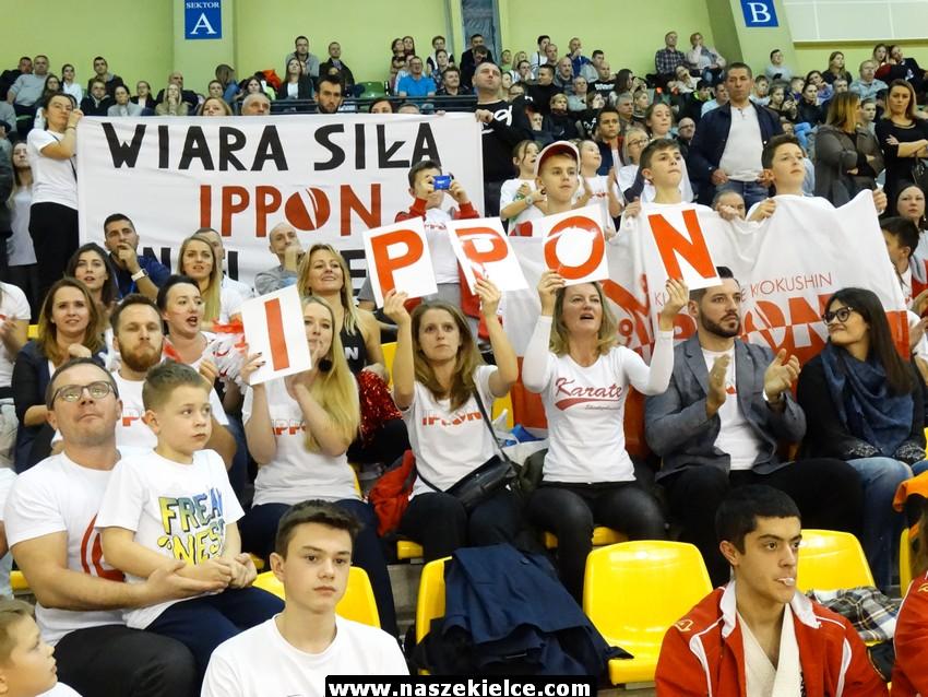 Mistrzostwa Europy Karate Kyokushin kadetów U16 i U22 w Kielcach 11.11.2017