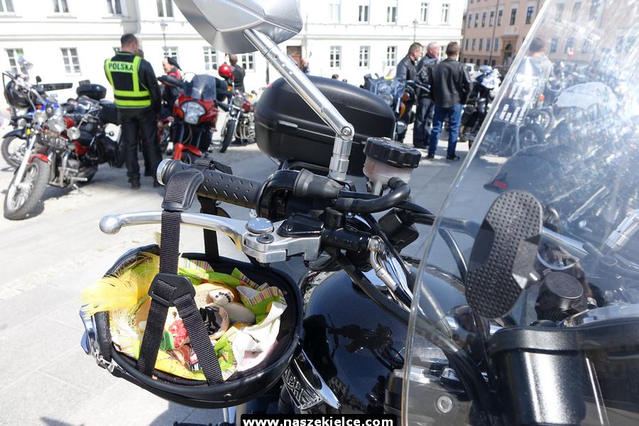 Motocyklowa święconka w Kielcach 20.04.2019