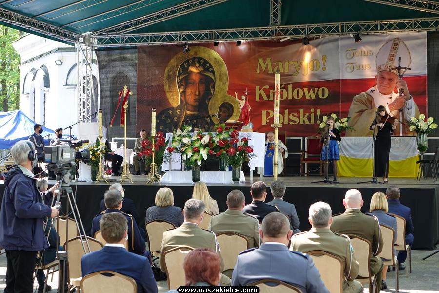 Msza Święta Papieska w Kościele Garnizonowym w Kielcach 17.05.2020