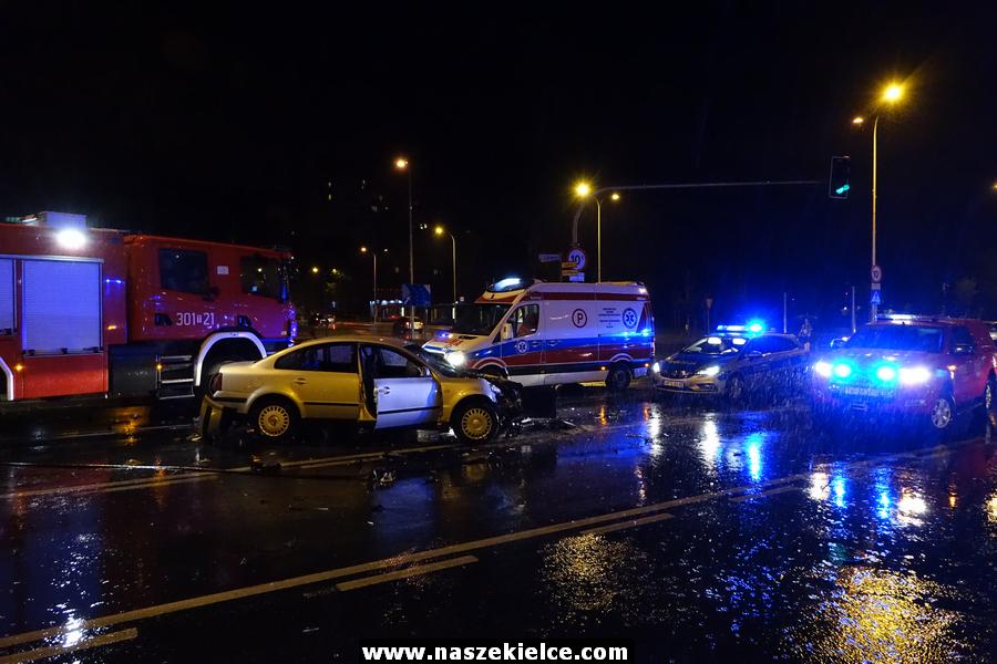 Wypadek Sandomierska Źródłowa 10.08.2019