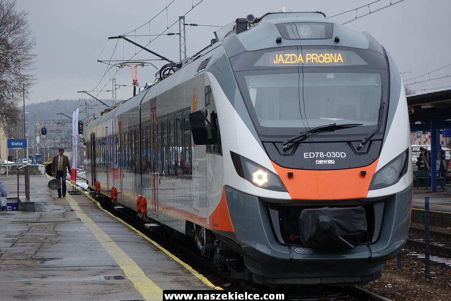 Nowy pociąg odebrany 13.12.2018
