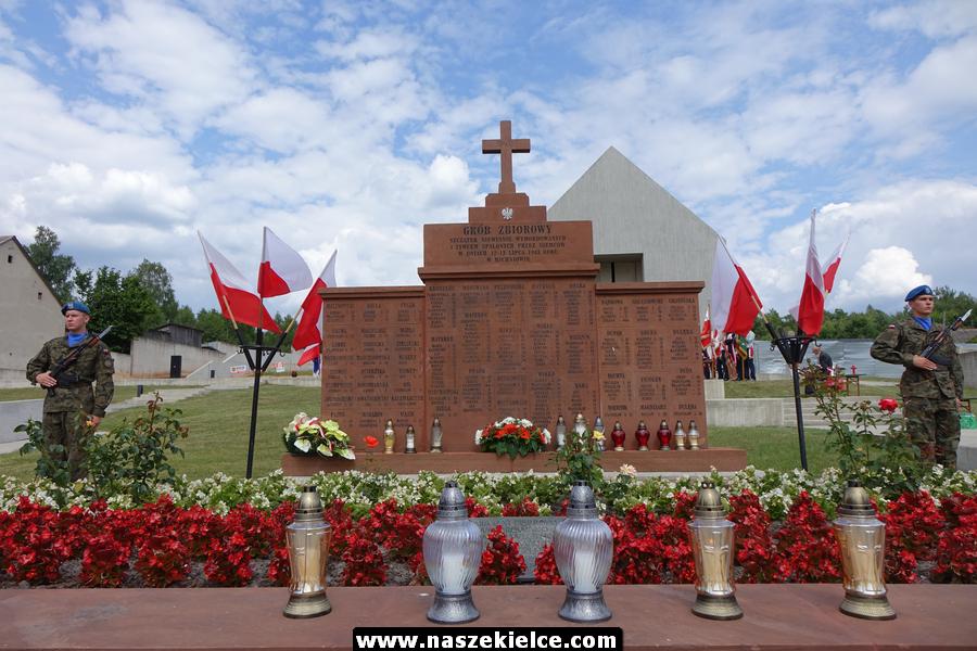 Obchody 76.rocznicy pacyfikacji Michniowa 12.07.2019