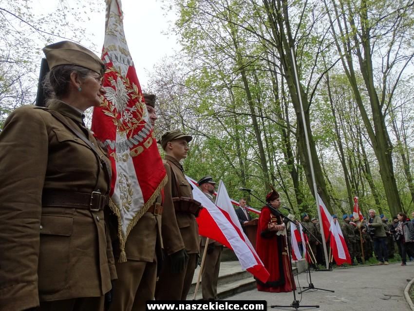 Kieleckie obchody Święta Konstytucji 3 Maja 03.05.2017