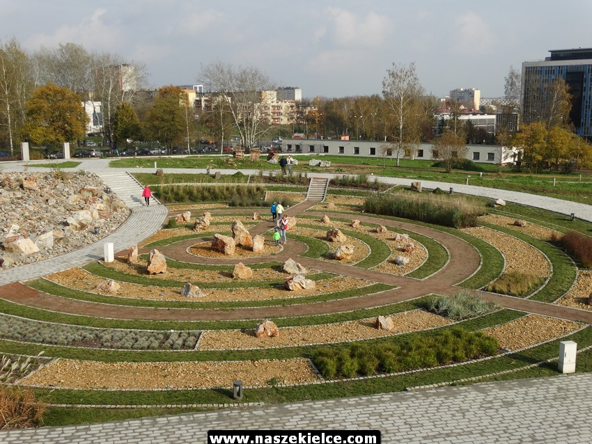 Oblężenie Ogrodu Botanicznego w Kielcach