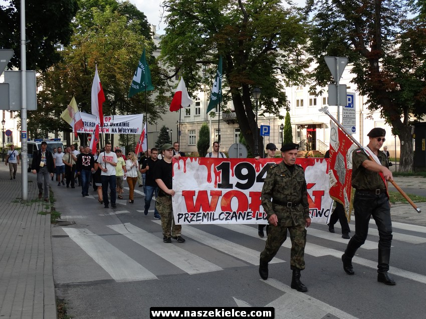 W Kielcach upamiętnią ofiary ludobójstwa na Wołyniu
