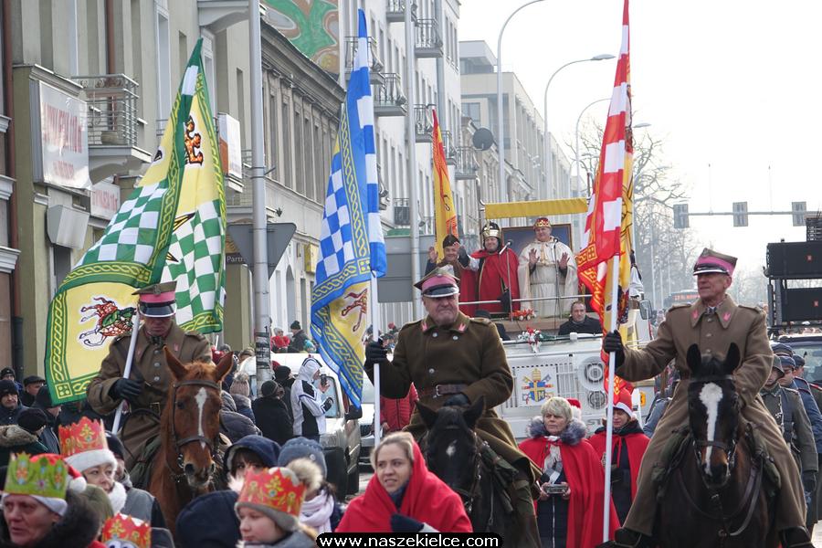 Orszak Trzech Króli w Kielcach 06.01.2020