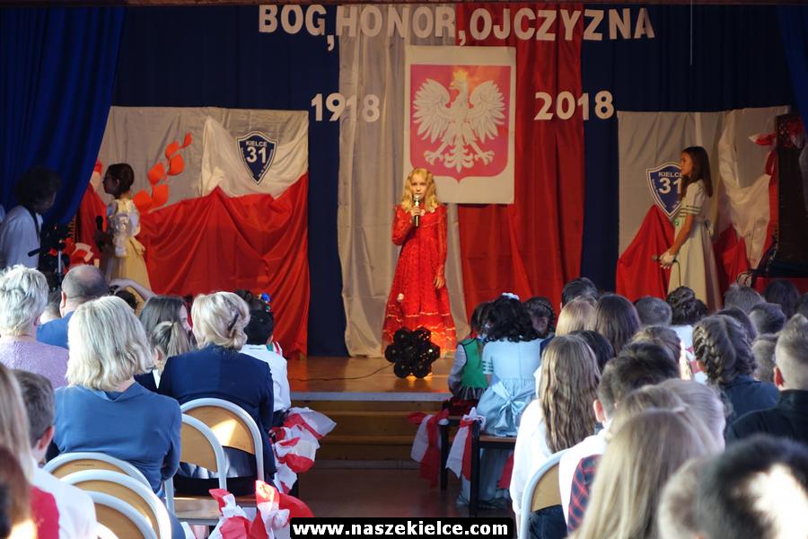 Patriotyczny spektakl w SP 31 w Kielcach