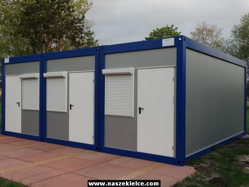Nowe pawilony szatniowo-sanitarne dla Polonii Białogon 22.05.2017