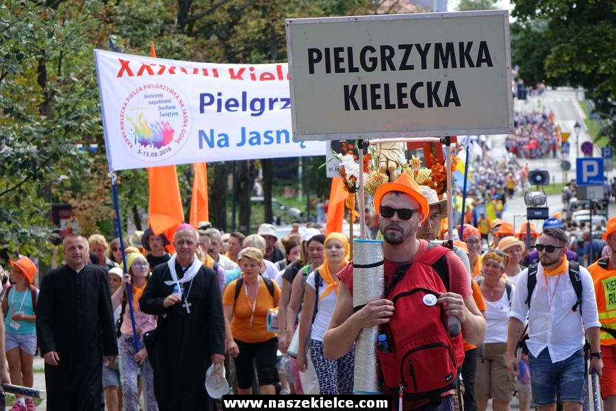 Piesza Pielgrzymka Kielecka na Jasną Górę w Kielcach 08.08.2018