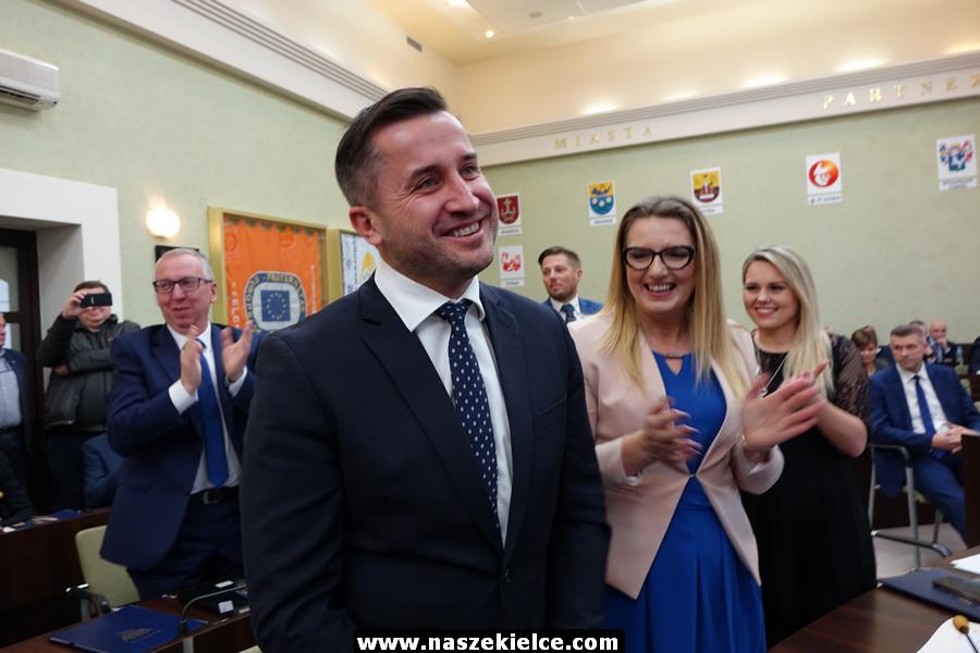 Pierwsza sesja rady miasta Kielce 22.11.2018