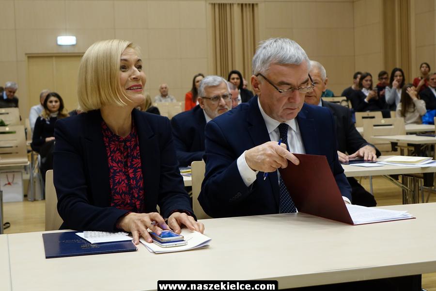 Pierwsza sesja Sejmiku Województwa Świętokrzyskiego kadencji 2018-2023