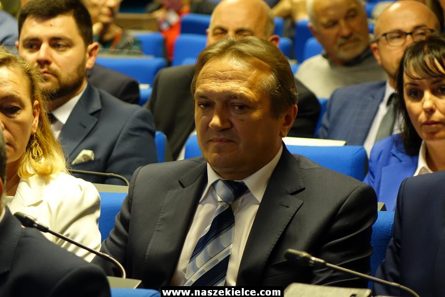 Pierwsza sesja rady powiatu kieleckiego 23.11.2018
