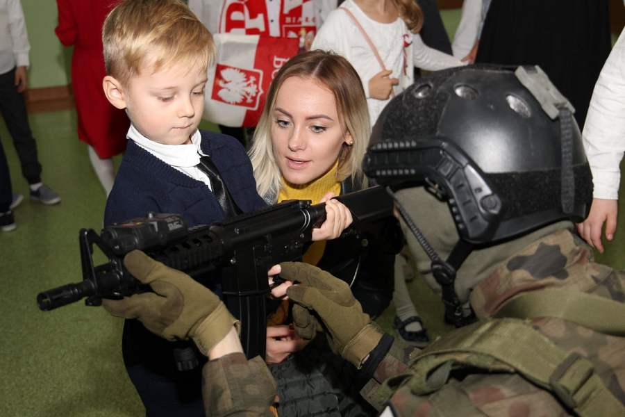 Szkolny piknik patriotyczny w SP.39 08.11.2019