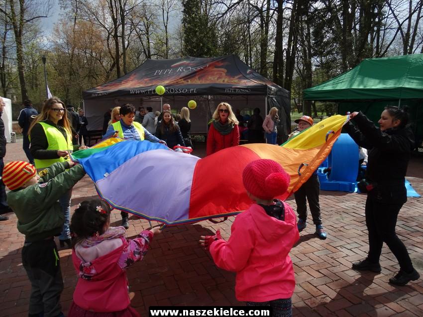 Piknik wielkanocny w parku Projekt Świętokrzyskie 08.04.2017