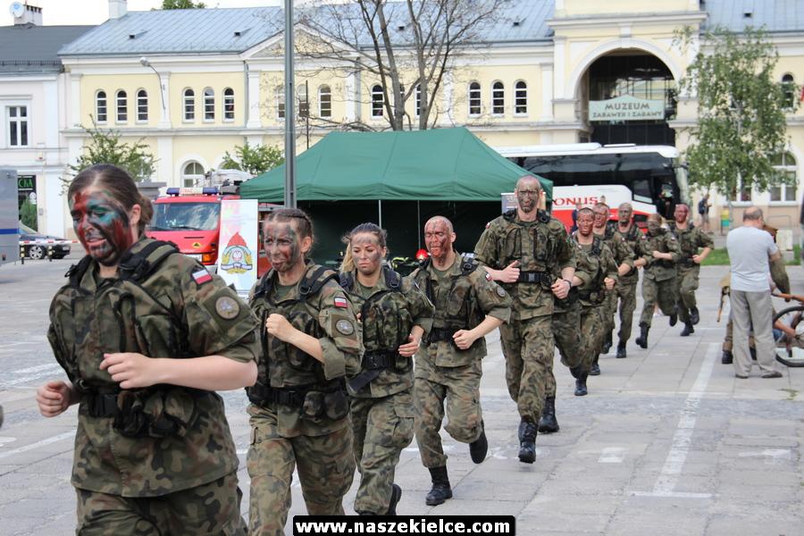 Piknik wojskowy na Placu Wolności 27.05.2018